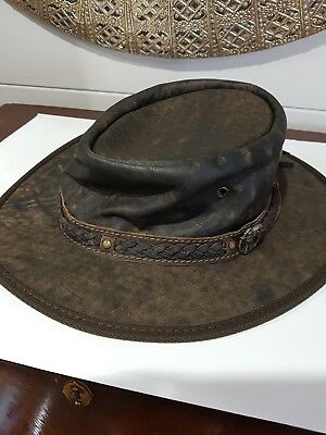 Kangaroo leather hat