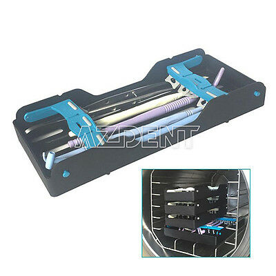Dental Turbine Sterilization Cassette Rack Tray Autoclavable Holder 5 Instrument