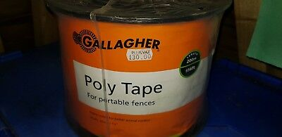 Gallagher Electric Fence Poly Tape  200m 20mm (12H)