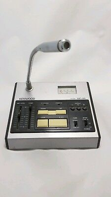 Vintage Kenwood MC-85 Desktop Microphone for Ham Radio Operation