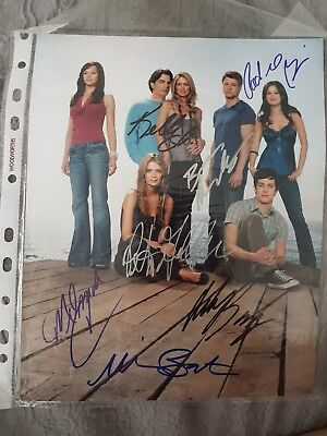 The OC Signed Cast Photo