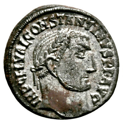 CONSTANTINE THE GREAT (315 AD) Very Rare Follis, Alexandria #IU 1109