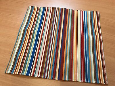 Paul Smith signature stripe style Tailored Pocket Square Brand New
