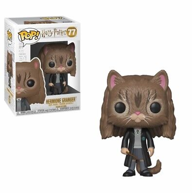 Figurine Funko Pop - Vinyl Harry Potter - 77 Hermione Granger  As Cat