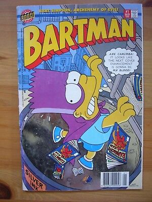 Used condition Bartman Comic Issue 1