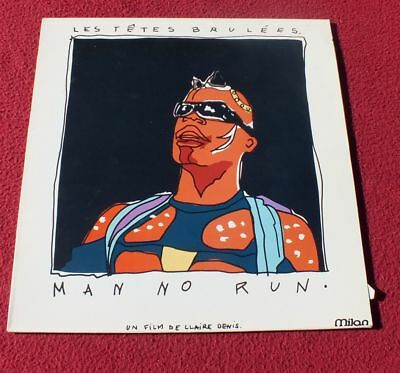 Vinyl LP*  Les Têtes Brulées ‎– Man No Run (1989) *RAR & TOP