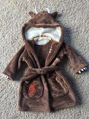 Gruffalo Dressing Gown M&S 1-1 1/2 Years
