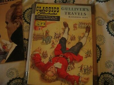 Classics Illustrated Gullivers Travels Nos; 16