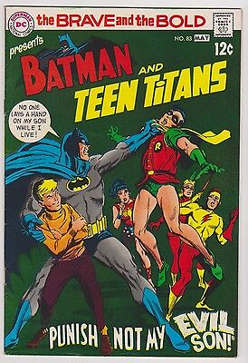 *ERROR* Brave and the Bold #83 Featuring Batman & Teen Titans, Very Fine Cond