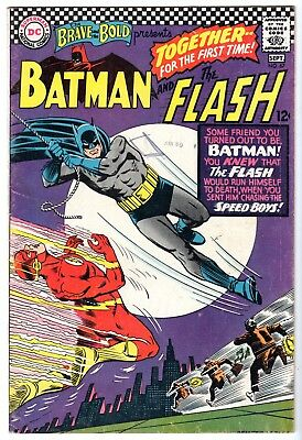 Brave and the Bold #67 Featuring Batman & Flash, Fine - Very Fine Condition