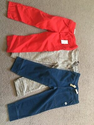 Boys Trouser Bundle Age 3 Gap BNWT