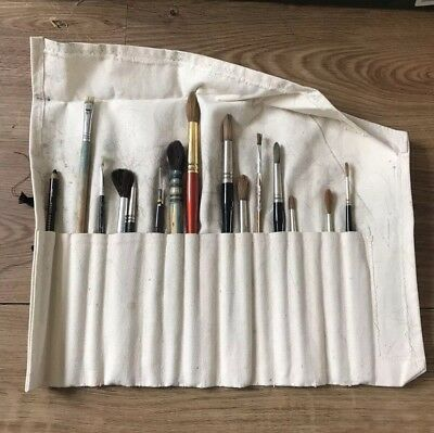 Job Lot - Artists Paint Brushes - Vintage Bundle - Brush Paints