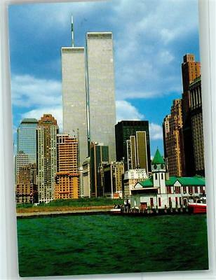 12107489 - The Twin Towers of the World Trade Center AK New York 1992