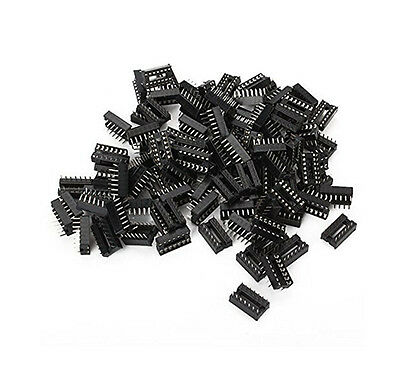 20 x 14 pin DIP IC Sockets Adaptor Solder Type Socket YJ