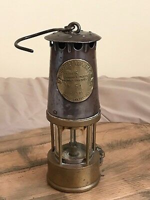 Eccles Type 6 Miners Safety Protector Lamp Mining Light Coal No 91 Coal Mine