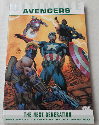 Ultimate Comics Avengers Next Generation Marvel Comics Graphic Novel Mark Millar