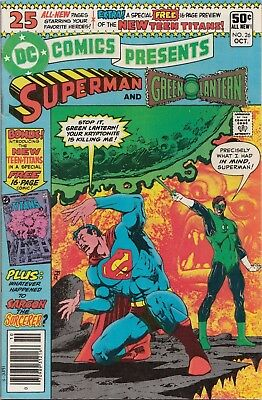 DC Comics Presents #26 1980 1ST APPEARANCE NEW TEEN TITANS & CYBORG High Grade