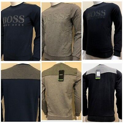eb4735a10 HUGO BOSS SWEATSHIRT JUMPER NEW WITH TAG REGULAR FIT (3 Different Colour )
