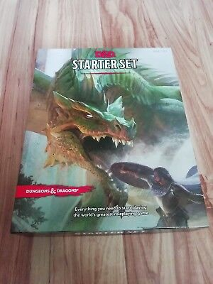 D&D Dungeons and Dragons Fünfte Edition Starter Set - englisch