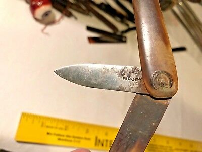 1700's To Early 1800's Pocket Surgeons Folding Scalpel Lancet