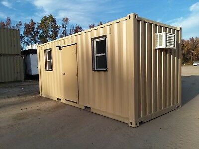 MOBILE OFFICE CONTAINER. (Brand new) EZ shipping.