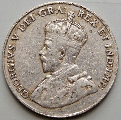 1926 - Far 6 Variety -  5 Cent Canada Canadian Coin - Key Date