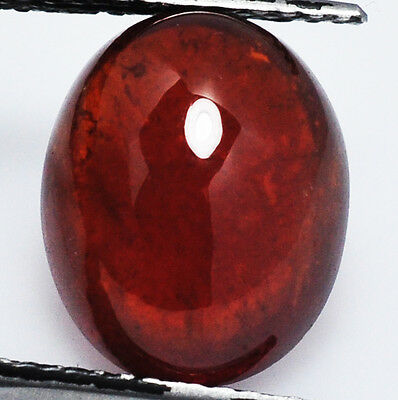 Brillante Spessardite Genuina Intrattata Ct. 10,81 Ovale Cabuchon