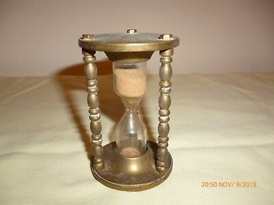 Vintage/antique Solid Brass Egg Timer