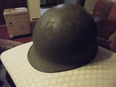 WWII Helmet and Liner 45th Infantry Division Identified NR Free Shipping!