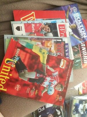 Bury Away Programmes In The Cup