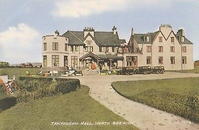 North Berwick, Tantallion Hall,postcard,