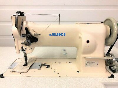 JUKI LU40 MECHANICAL Sewing Machine 40440040 PicClick Magnificent Juki Lu 563 Walking Foot Industrial Sewing Machine