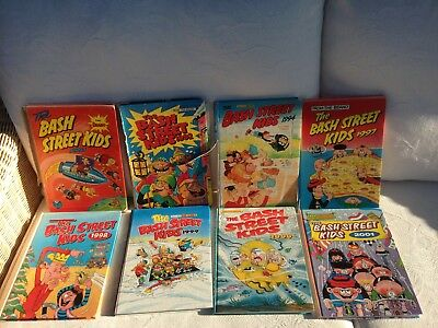 The Bash Street Kids Annuals: 1991, 1992, 1994, 1997, 1998, 1999, 2000, 2001