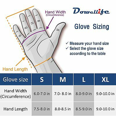 Cut Resistant Gloves Food Grade Level 5 Protection Safety Carving 1 Pair (Large)