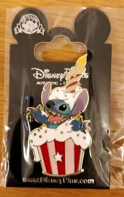Disney trade pin Stitch Birthday cupcake (I COMBINE THE P&P)