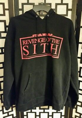 Star Wars Episode III, Revenge of the Sith Large Hoodie; Great Condition
