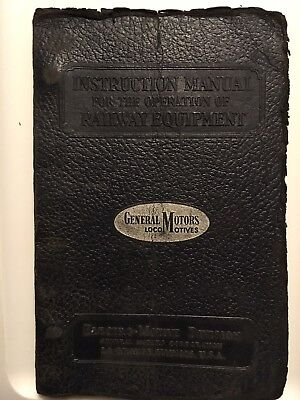 Western Pacific FT Operating Manual. EMD 1943