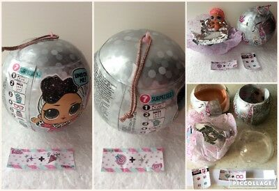 LOL Surprise Doll Holiday Bling Series: Troublemaker, Sugar Queen, Ice Skater