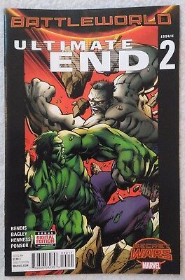 ULTIMATE END (2015) #2 by Brian Bendis & Mark Bagley - SECRET WARS/MARVEL