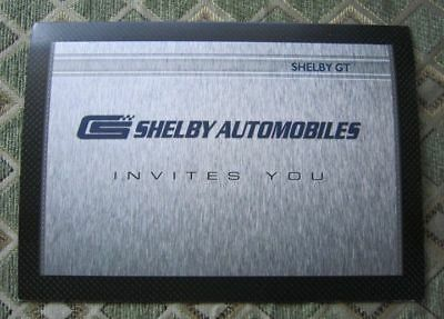 2007 Shelby GT Artehouse Print Brochure 2for1 Ford Mustang Cobra SAI Carroll SGT