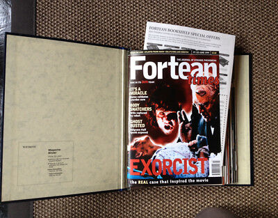Lot of 12 FORTEAN TIMES Magazine Issues 123-134 1999-2000 FREE P&P