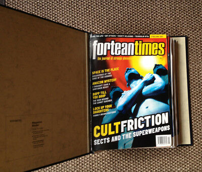 Lot of 12 FORTEAN TIMES Magazine Issues 99-110 1997-1998 FREE P&P