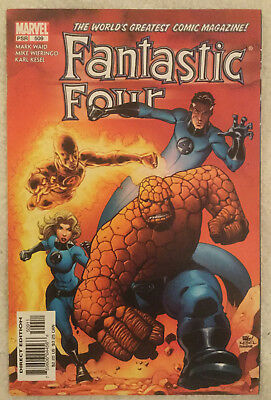 FANTASTIC FOUR #509 by Mark Waid and Mike Wieringo - MARVEL COMICS