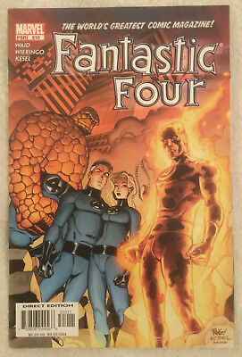 FANTASTIC FOUR #510 by Mark Waid and Mike Wieringo - MARVEL COMICS