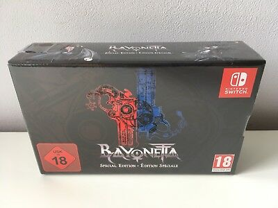 BAYONETTA 2+1 Special Edition Nintendo Switch NUEVO NEW NEUF NUOVO NEU SEALED