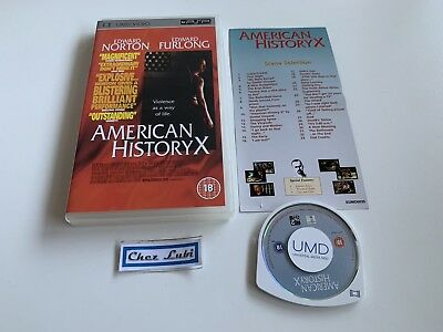 American History X (Edward Norton, Edward Furlong) - UMD Video - Sony PSP - EN