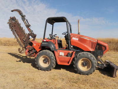 Ditch Witch RT90 Trencher 4x4