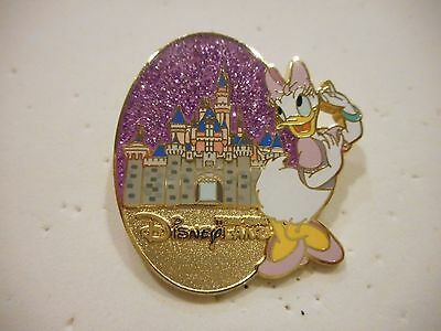 Daisy Duck Disneyland Hong Kong Glitter Disney Pin