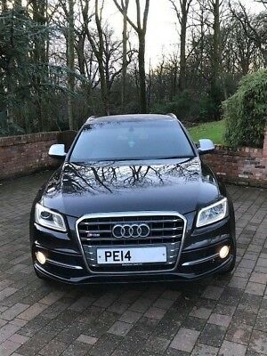 2014 Audi SQ5 3.0 tdi Quattro Lava Grey Automatic ONE OWNER FULL SERVICE HISTORY