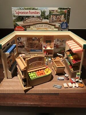 Sylvanian Families Village Store & Accessories with box